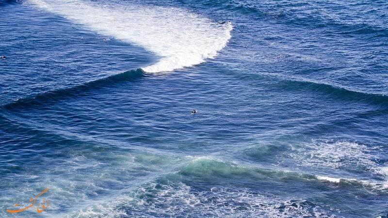 امواج مربعی دریا | گردشگری