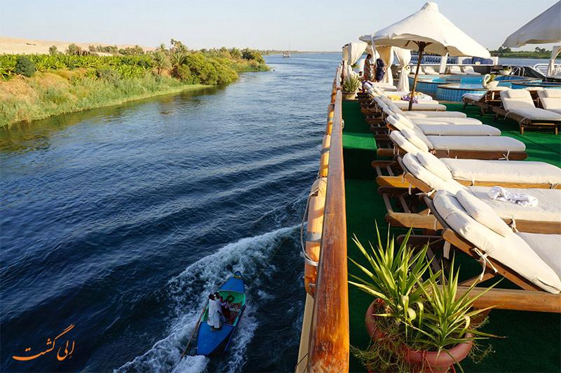 کروز سواری در رود نیل
