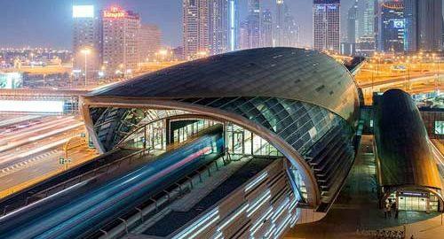 سیستم حمل و نقل در دبی