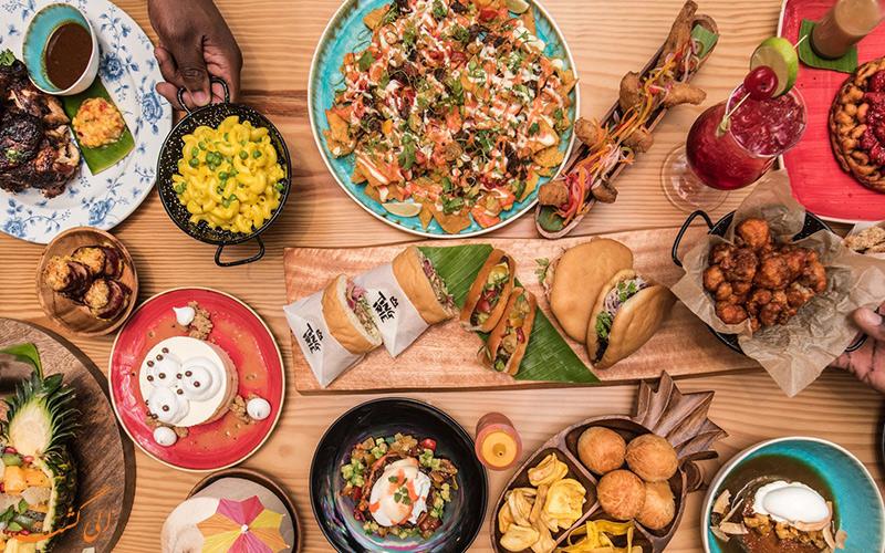 هزینه خورد و خوراک در شهر دبی