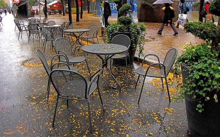 کافه های خیابانی در تورنتو