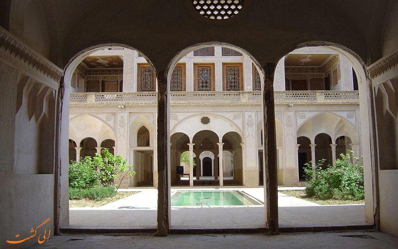 خانه تاریخی و باشکوه کاشان