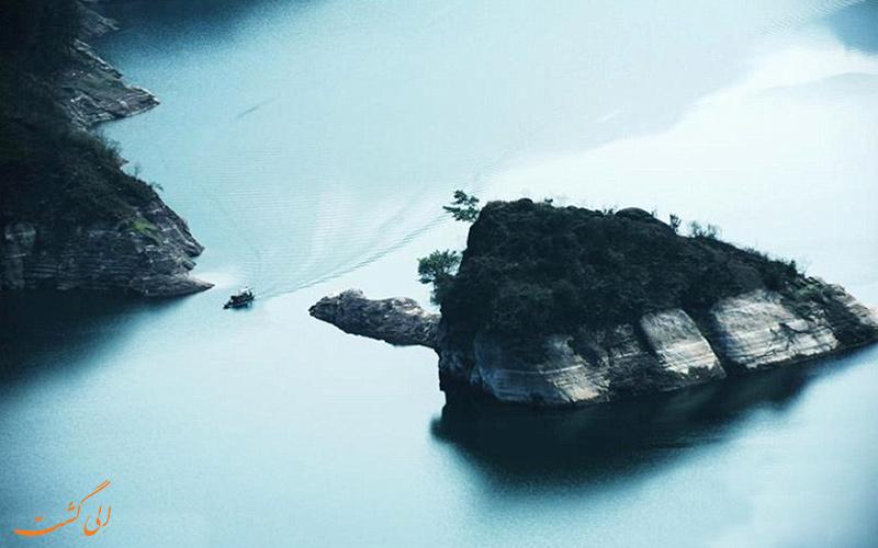 جزیره لاک پشتی در چین