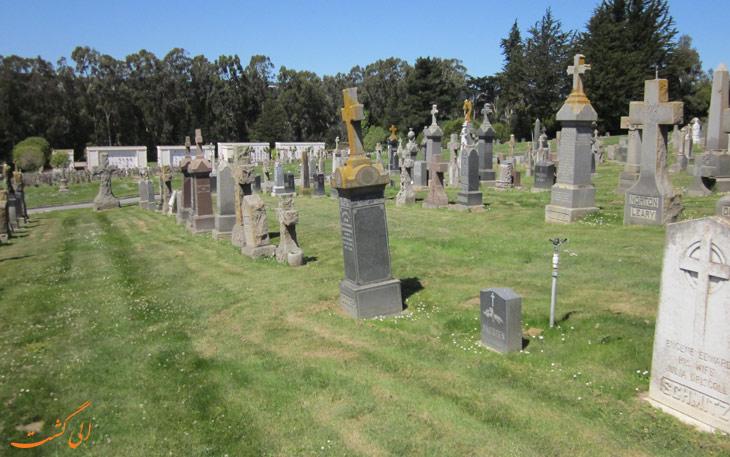 قبرستان های سرسبز کولما
