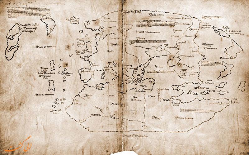 نقشه های قدیمی