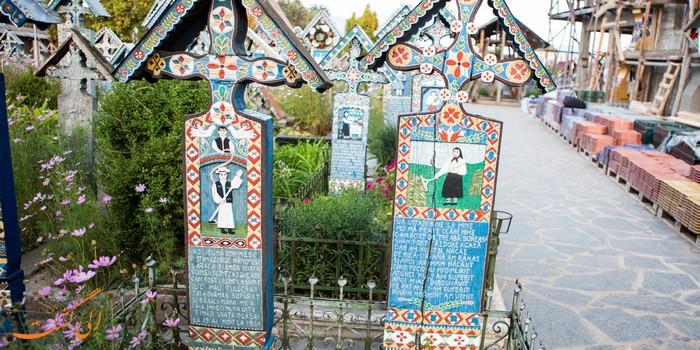 عکس های قبرستان مری در رومانی