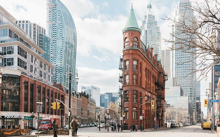 نمایی از خیابان های تورنتو