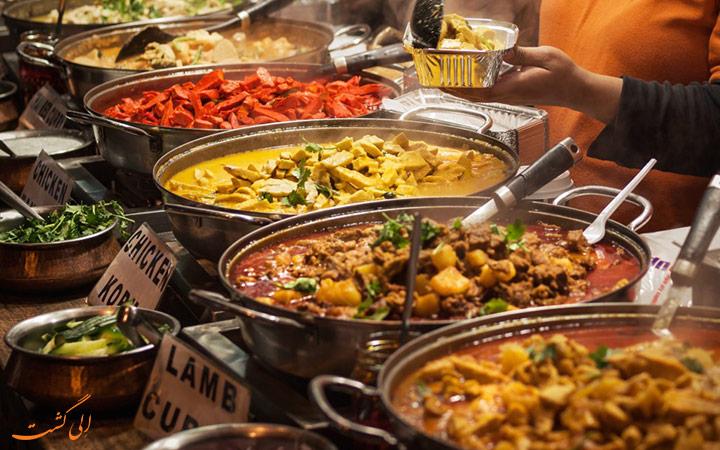 غذاهای بمبئی