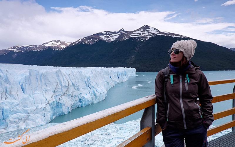دیدن یخچال طبیعی آرژانتین