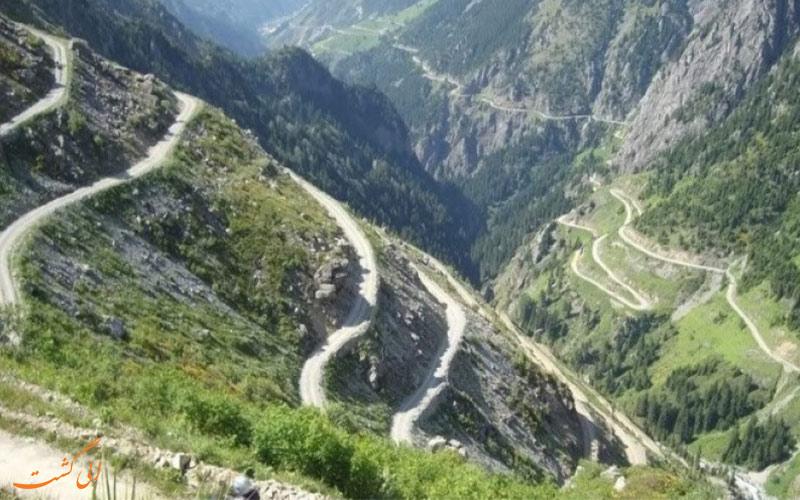خطرناک ترین جاده در ترکیه