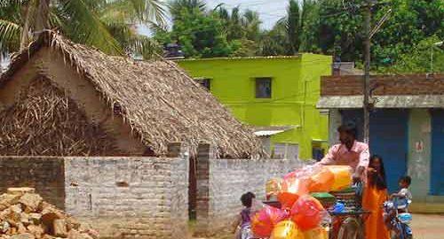روستایی در هندوستان