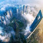 در برج شانگهای روی ابرها بروید + ویدیو