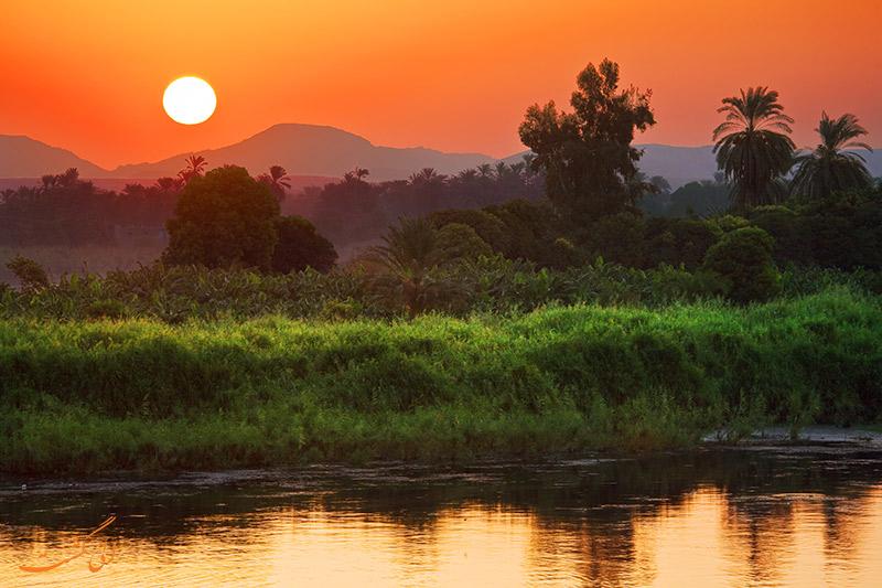 رود نیل در آفریقا