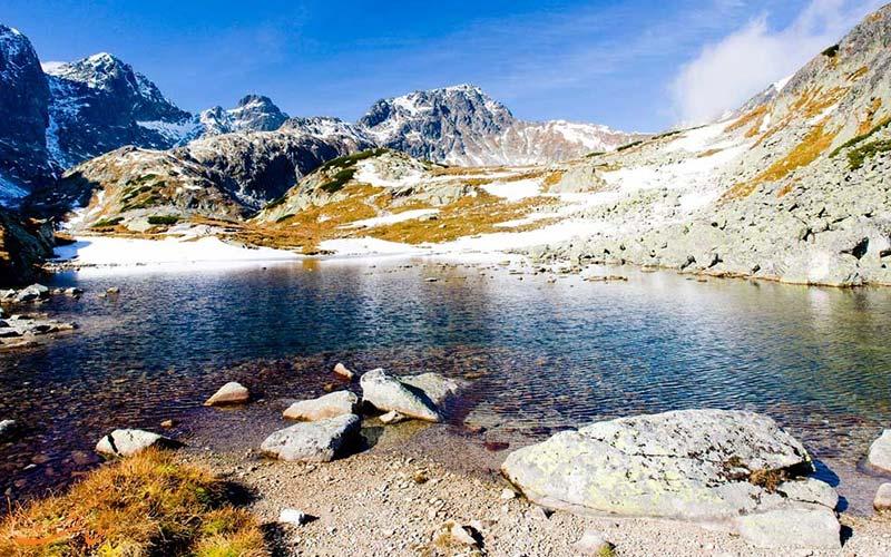کوهستان تاترا در زمستان