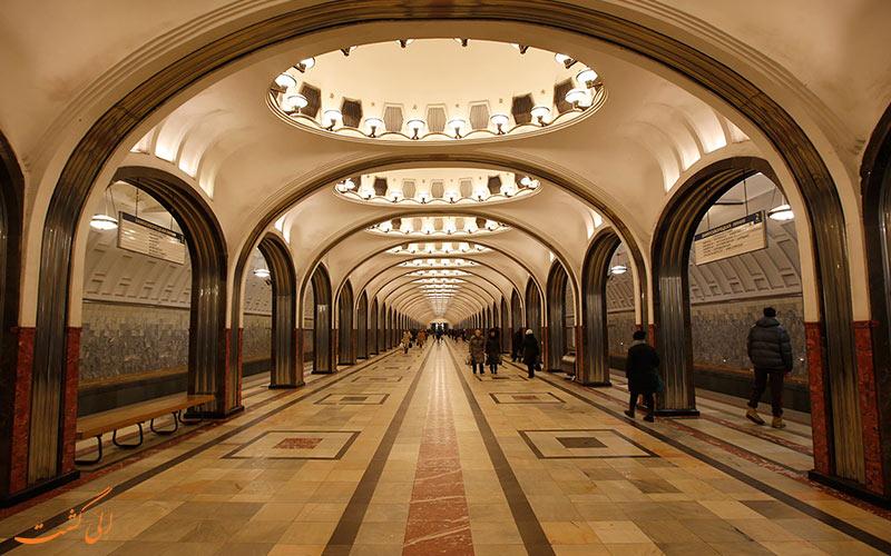 مترو در مسکو