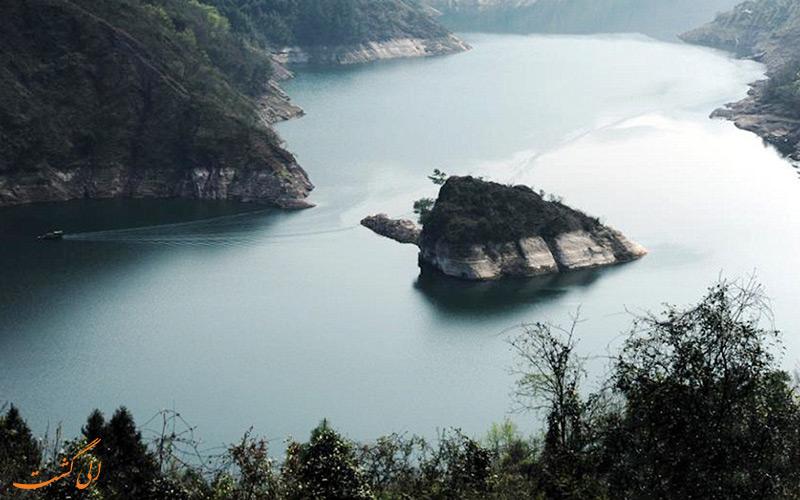 جزیره عجیب در چین