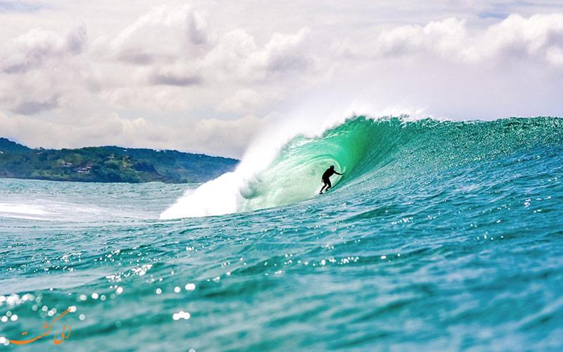 موج سواری در نیکاراگوئه
