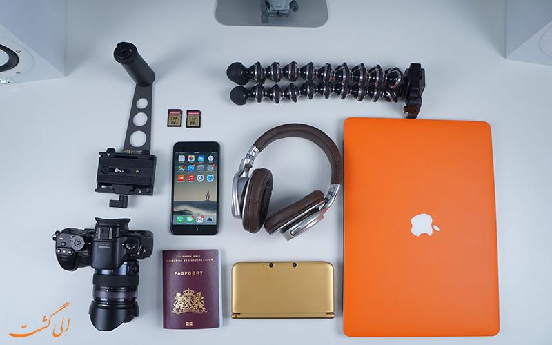 سفر با تکنولوژی