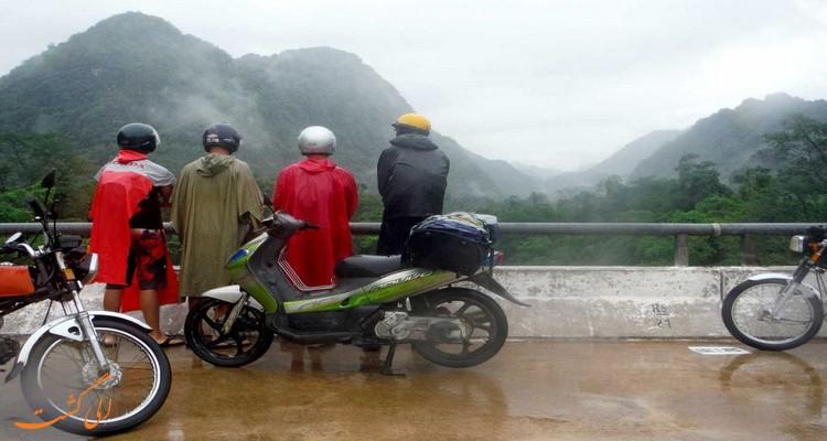 موتور سواری از هوچی مین به هانوی