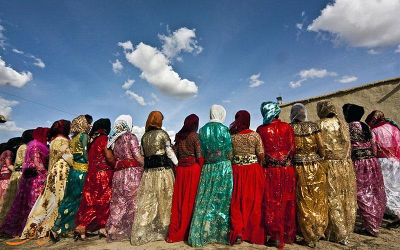 لباس محلی زنان کردی