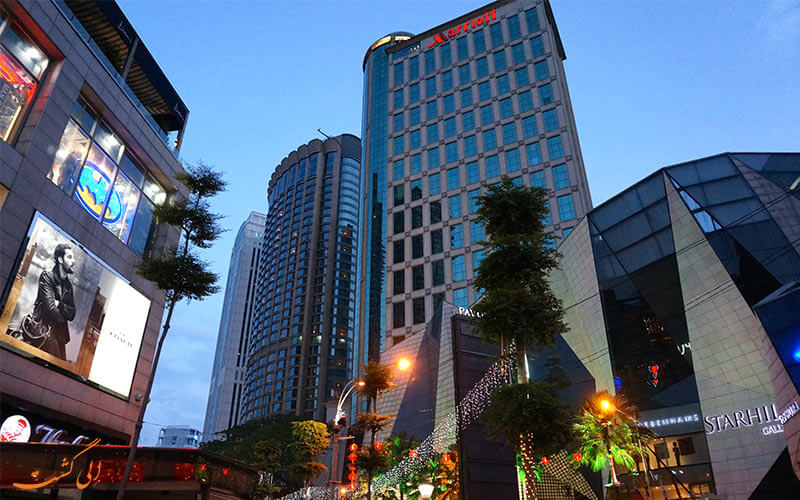 هتل ماريوت كوالالامپور