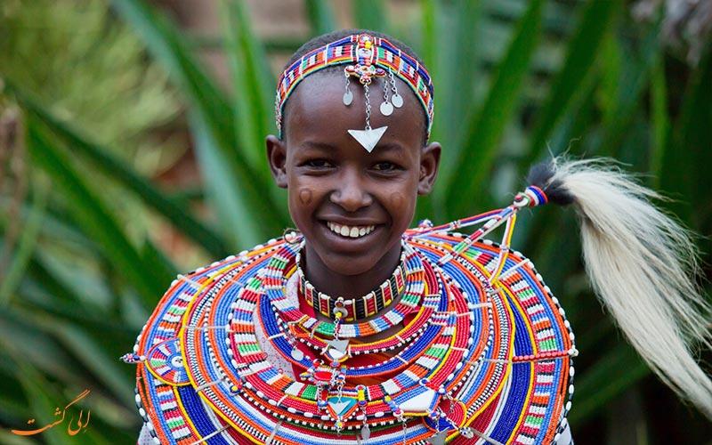 فردی محلی در کنیا
