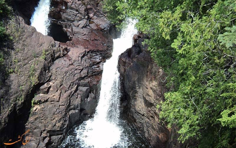 آبشار شیطان در مینه سوتا