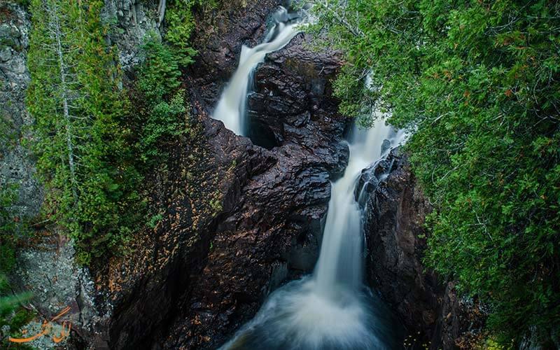 آبشار شیطان مینه سوتا