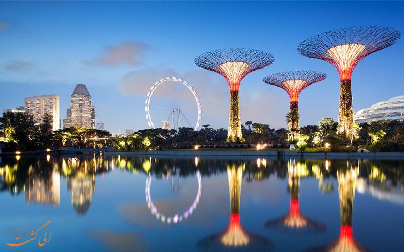 درختان مصنوعی سنگاپور