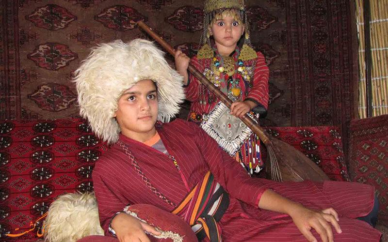 لباس محلی ترکمن
