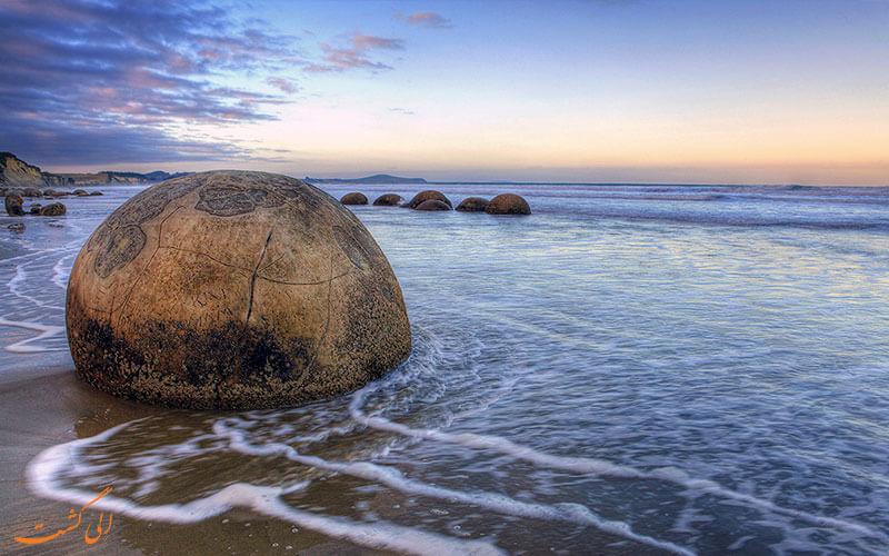 نیوزیلند - سنگ های عجیب