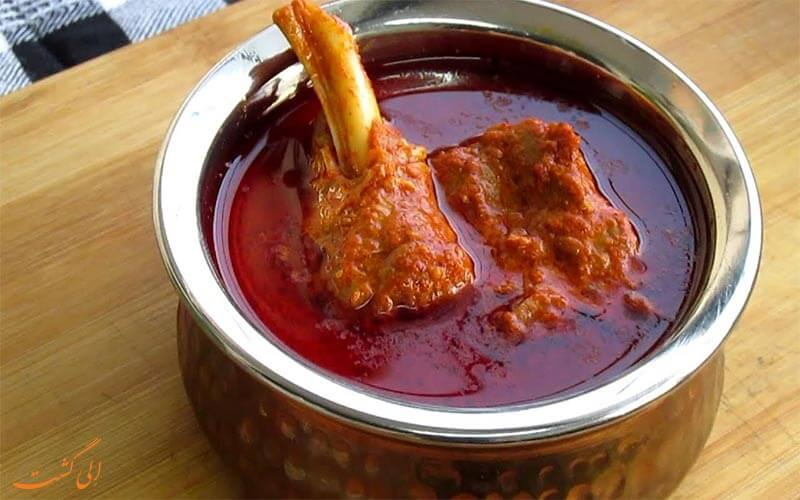 10 غذای معروف هندی