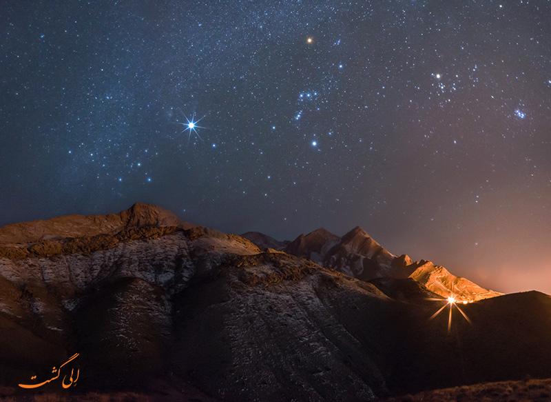 عکس های پرستاره ترین آسمان های ایران