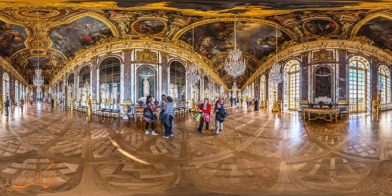 نمای 360 درجه کاخ ورسای پاریس