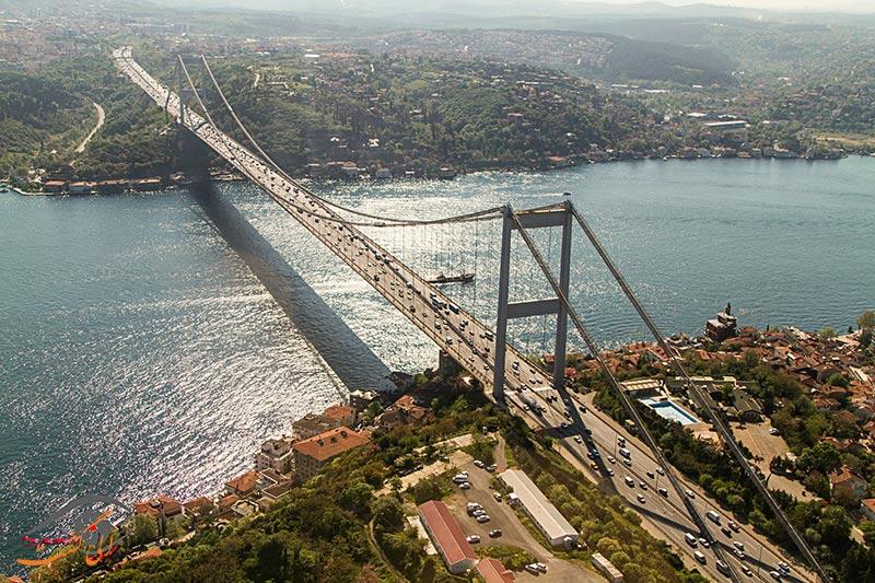 پل های دیدنی استانبول