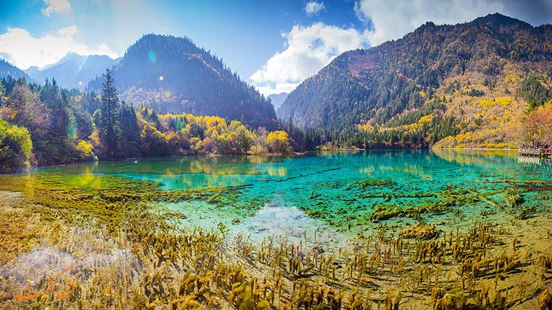 دره Jiuzhaigou