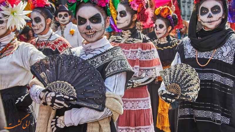 دیا د موئرتوس در مکزیک