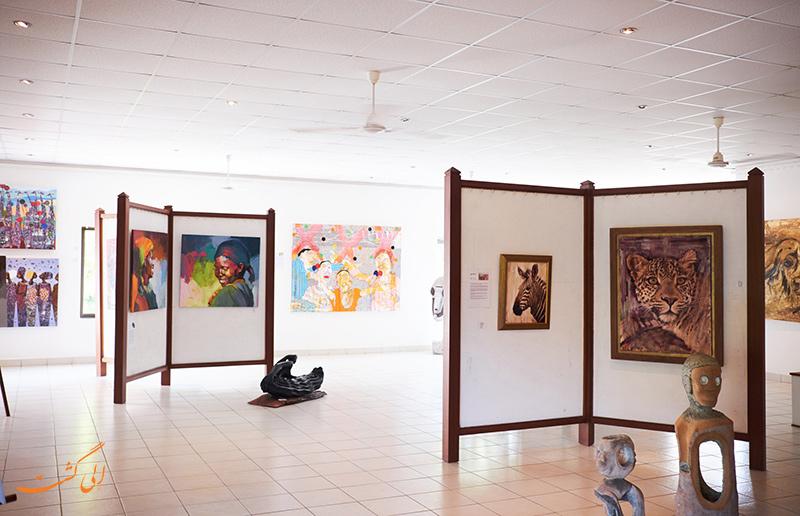 گالری هنر ساحل دایانی در کنیا