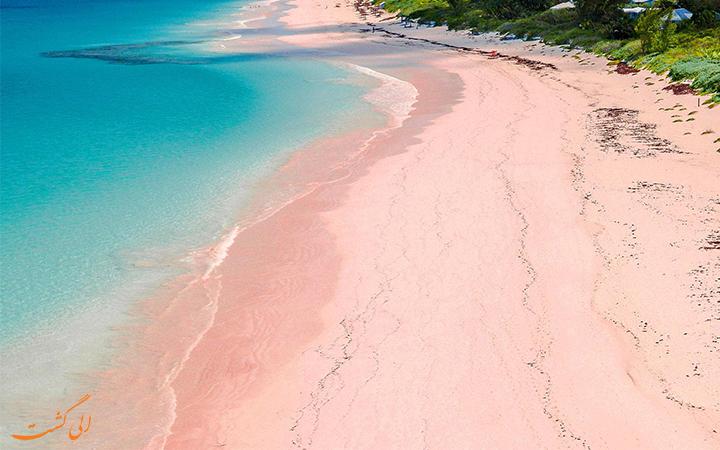 ساحل صورتی باهاماس