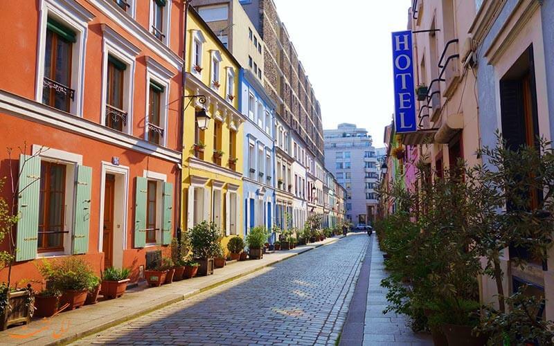 محله Rue Crémieux