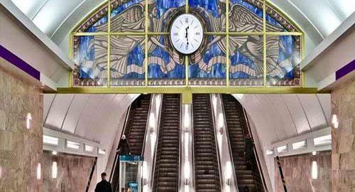 عمیق ترین ایستگاه های متروی جهان