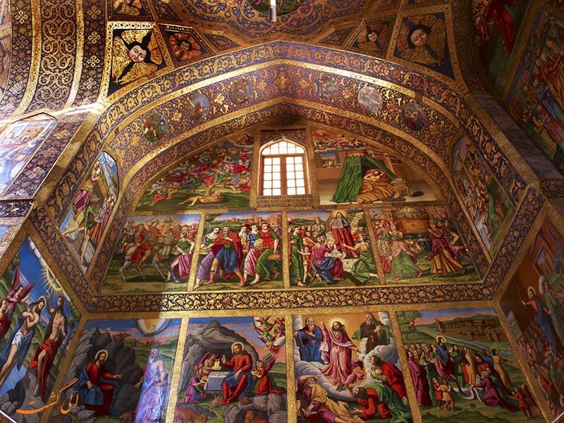 نقاشی های کلیسای وانک