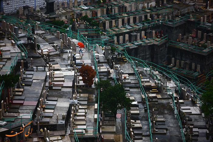 گورستان های عمودی در تایوان