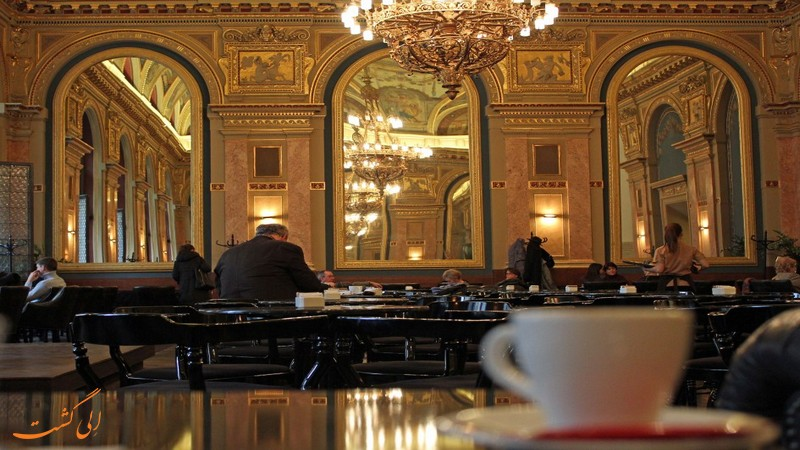 کافه Alexandra Bookcafe