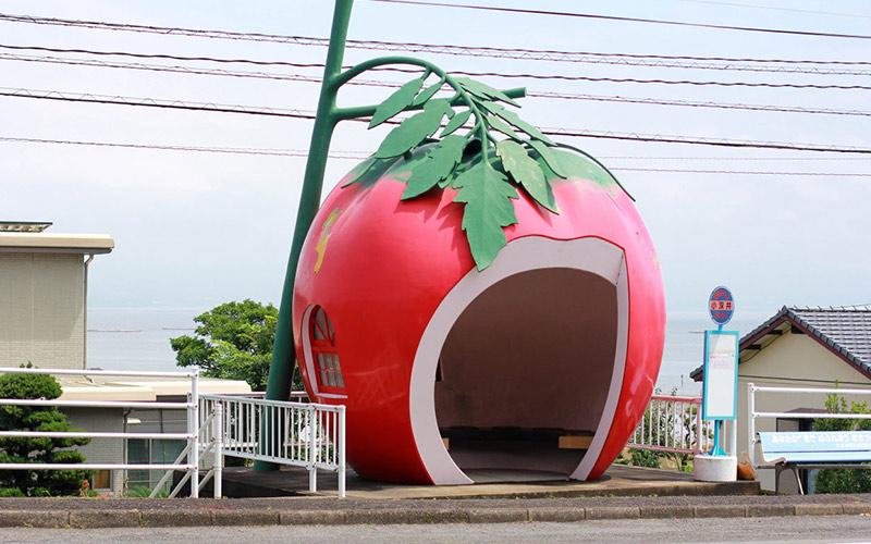 ایستگاه های اتوبوس جذاب در ژاپن