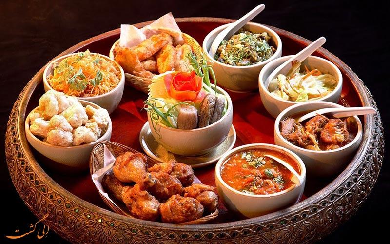 غذاهای شمال تایلند