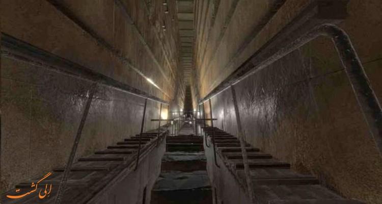 حفره بزرگ اهرام مصر