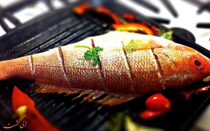 ماهی برشته