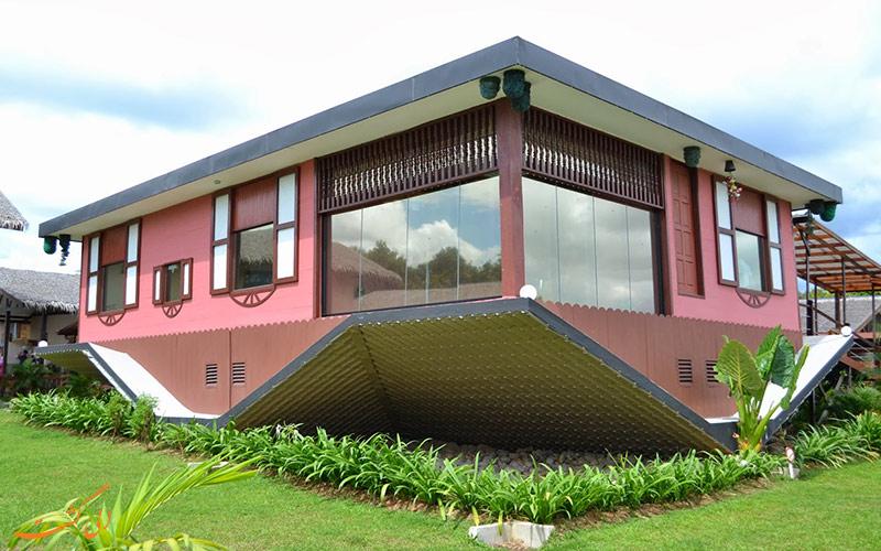خانه ای جالب در مالزی