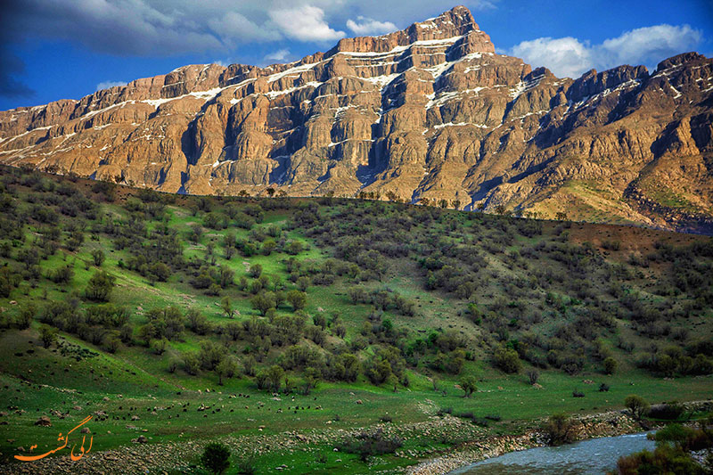 طبیعت دره خزینه پلدختر